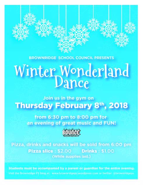 Brownridge_Winter Wonderland poster 2018