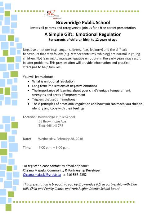 Simple Gift Parenting Workshop Feb 28