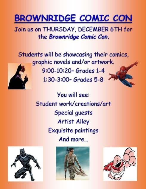 Comic Con Invite