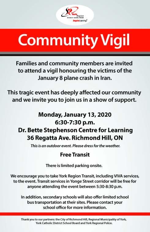 Community Vigil-Poster