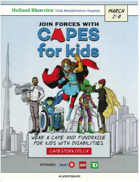 Capes for Kids Poster 2020