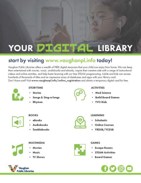 VPL- Outreach Newsletter- Your Digital Library